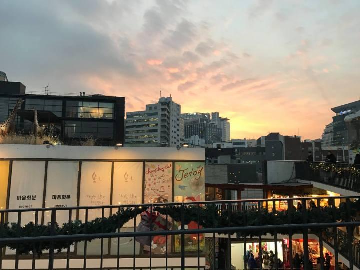 insadong-sunset