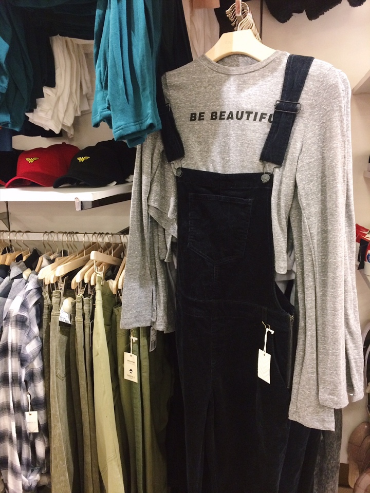 Corduroy Overalls, Fashion