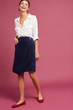 Corduroy Skirt
