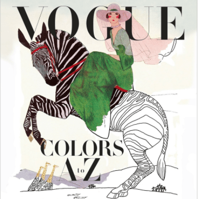 Vogue, coloring book, Lifestyle, Fashion