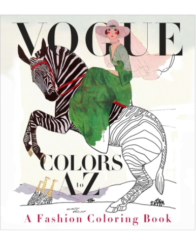 Vogue, coloring book, Lifestyle, Fashion