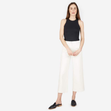 Everlane Wide Leg Crop Pant