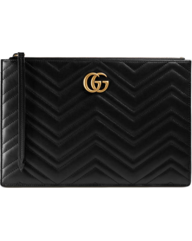 GG Marmont matelassé leather pouch