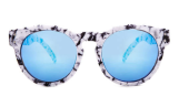 Quay Marbled Acetate Sunglasses