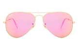 Ray Ban Pink Aviator Sunglasses